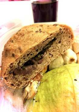 簡易燉牛肉麵包
