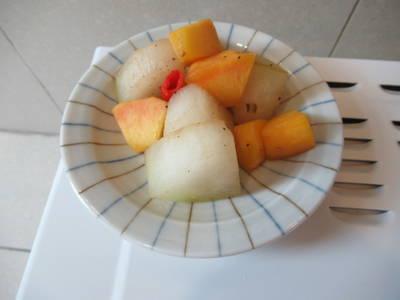 蝦醬鮮黃桃冬瓜