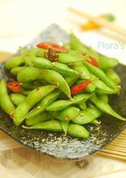 毛豆界的lv、台灣綠金●涼拌毛豆