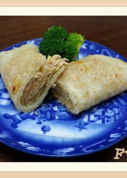 燕麥鮪魚蛋餅