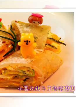 金平南瓜蔥油餅