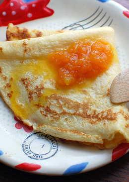 法式可麗餅佐柑橙醬