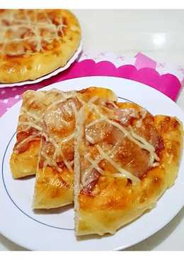培根玉米披薩麵包