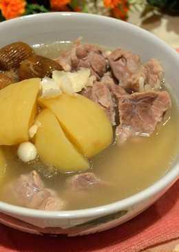 蘋果百合瘦肉湯