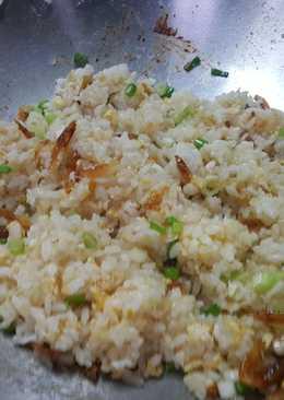 麻油香櫻花蝦炒飯