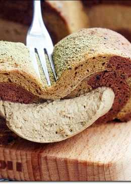 ♥毛毛♥雙色巧克力抹茶爆漿蛋糕捲