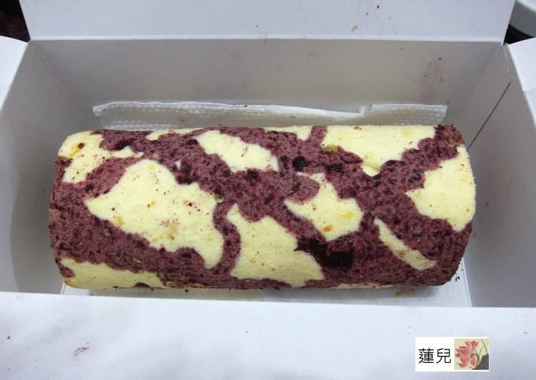 桑椹醬蛋糕捲