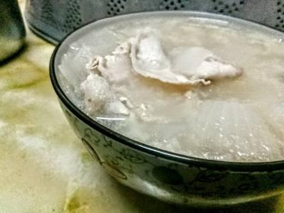 洋蔥肉片湯