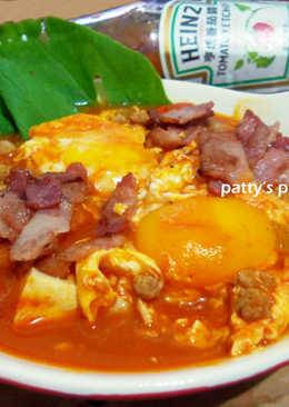 [亨氏番茄醬]肉醬溫泉蛋