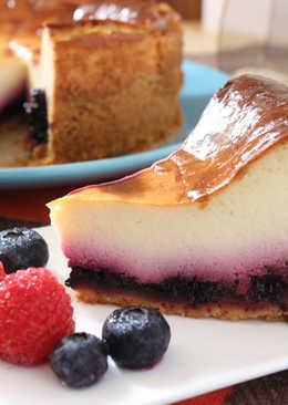 桑椹熱烤乳酪蛋糕
