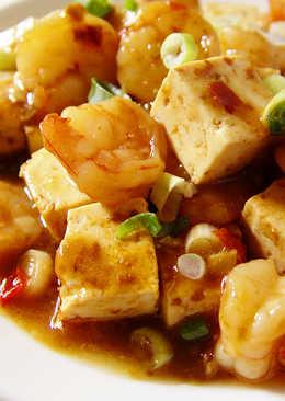 【厚生廚房】紅燒蝦仁豆腐