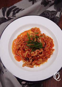 [省錢料理][清冰箱料理]韓式泡菜炒豬肉