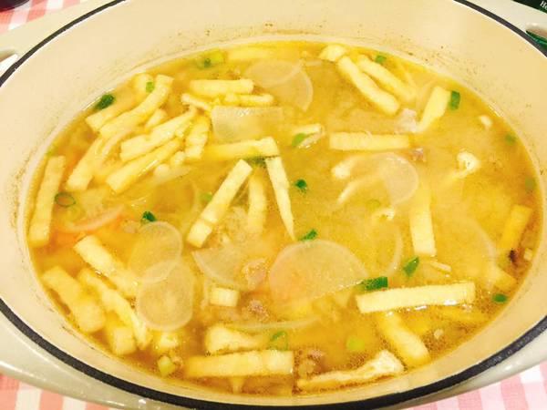 日式味增湯(熬湯底)