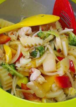 泰式鮮蝦蔬果涼拌菜
