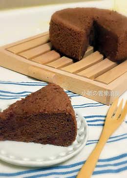 蒸巧克力蛋糕 [減糖電鍋版]