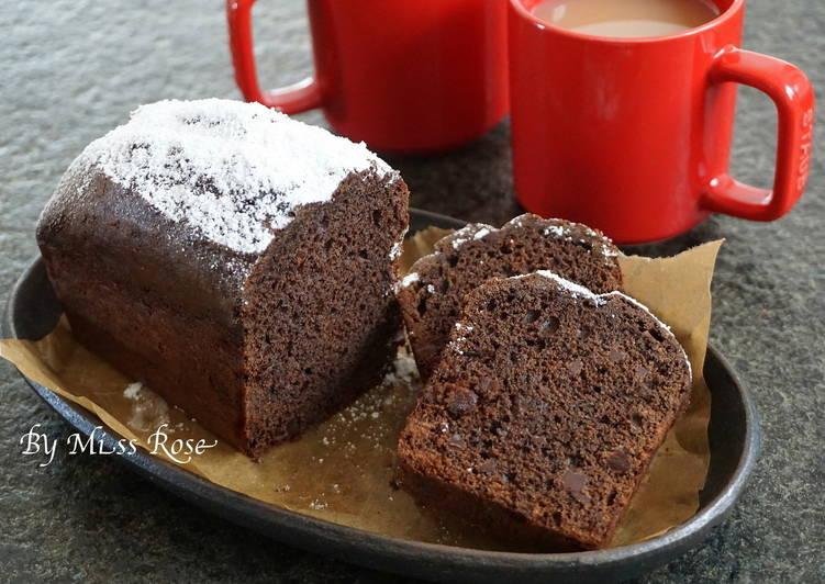 【特濃】巧克力磅蛋糕