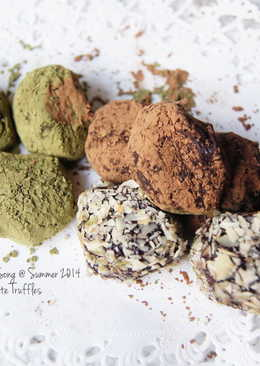 法式松露巧克力 Chocolate Truffles