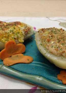 海鮮焗烤馬鈴薯2吃