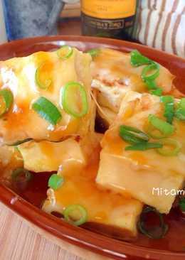 起司雞蛋豆腐燒