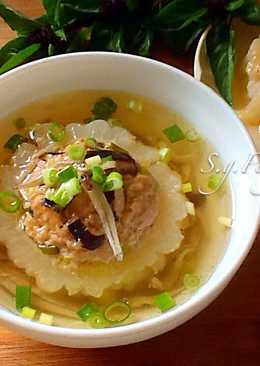 苦瓜封豆豉小魚乾湯
