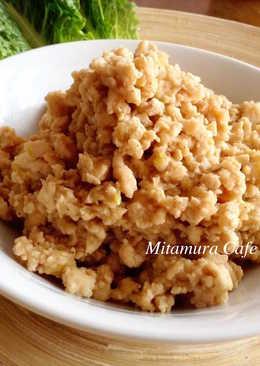 日式味噌雞肉肉燥