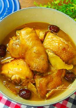 黑豆酒麻油雞