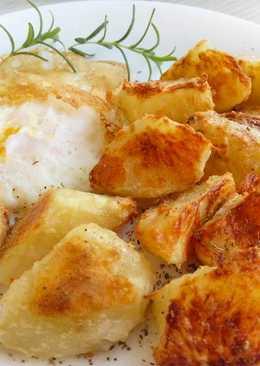 脆皮烤薯塊♥免油炸的酥脆好滋味~