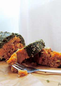 抹茶胡萝卜磅蛋糕