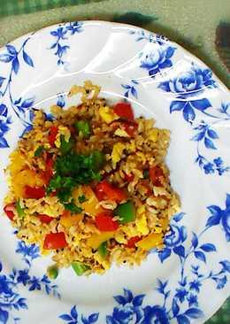 原味料理- 薑油蔬食蛋炒飯(蛋素)