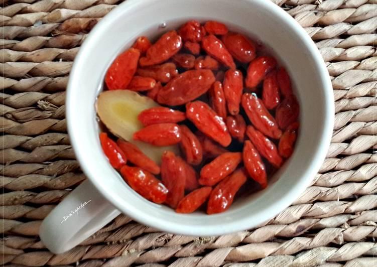 枸杞老薑茶 娜娜媽 (原味餐食譜)