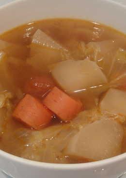 素食川味牛肉湯 (冬粉/麵)