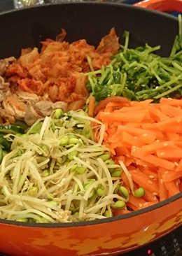 【multee摩堤_鑄鐵鍋料理】韓式作風-鑄鐵拌飯