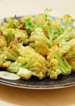 百里香鯷魚烤白花
