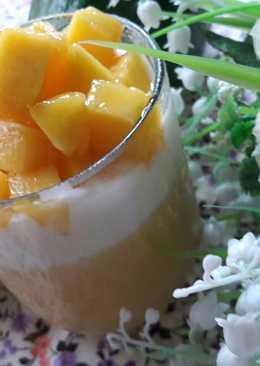 芒果煉乳優格冰淇淋 (Mango Yogurt Ice cream)