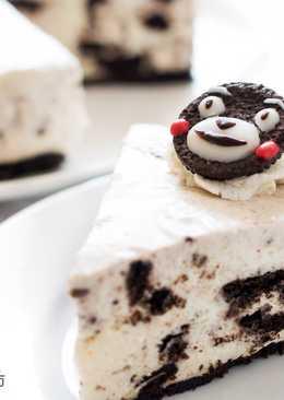 【影片】超簡易免烤甜品 - 熊本熊Oreo乳酪蛋糕