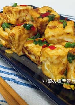 蒜香椒鹽豆腐
