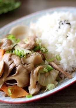 舞菇蛤蜊燴飯
