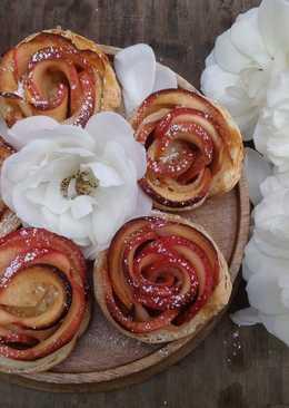 Mini Apple Rose Pies-迷你玫瑰蘋果派♥!