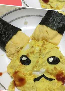 皮卡丘蛋包飯
