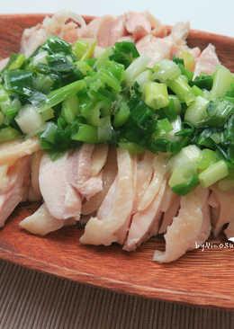 開胃蔥油雞