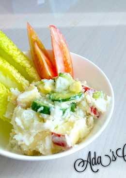 [深夜食堂] 日式馬鈴薯沙拉 (低卡瘦身版)