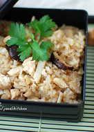 黑麥汁雞肉炊飯[電鍋/電子鍋料理]