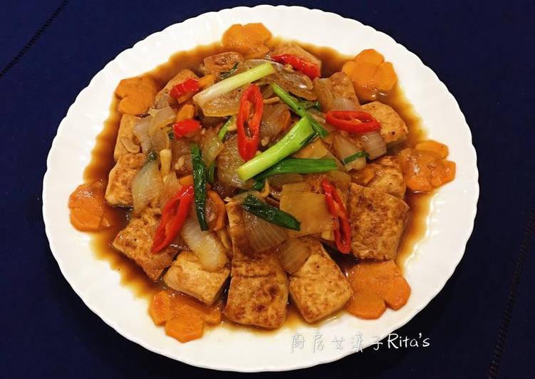 家常紅燒豆腐