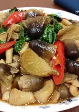麻油塔香草菇
