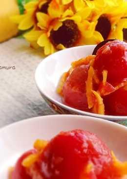 柳橙梅干醃小番茄