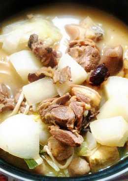 清燉蔬菜羊肉爐