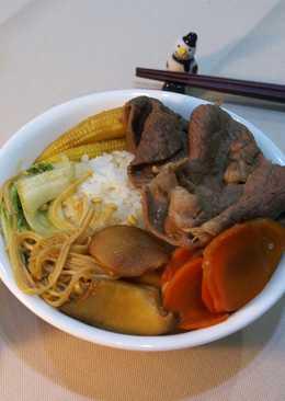 簡單、快速、美味:牛肉壽喜丼