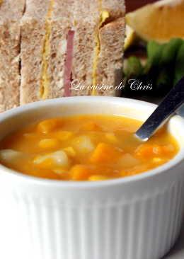 [湯品] 南瓜玉米濃湯