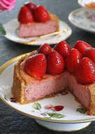 草莓紐約起士蛋糕