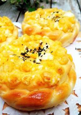 玉米蛋沙拉麵包-冷藏法